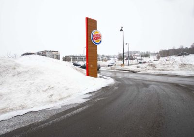Burger King pylon