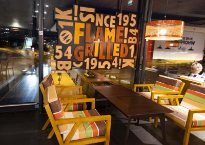 Burger King furniture