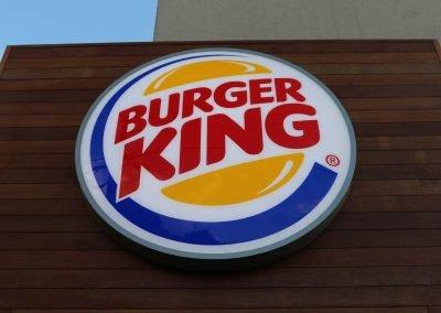 Burger King signage