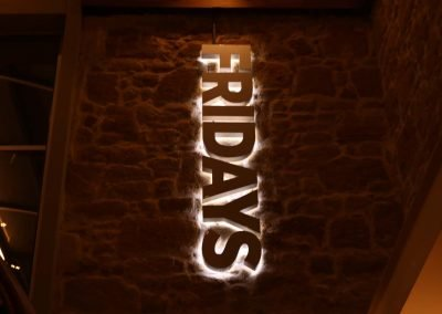 Fridays signage