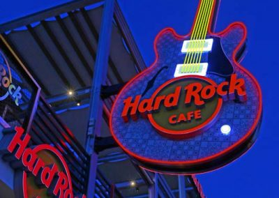 Hard Rock Caffe custom construction