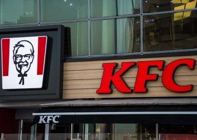 KFC signage