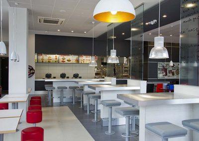 KFC furniture