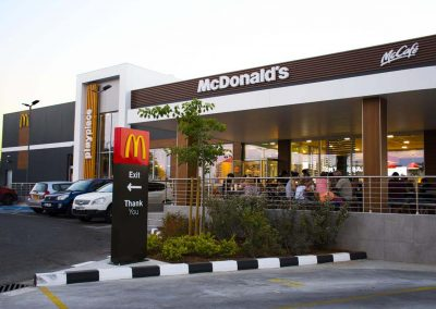 McDonald's shop