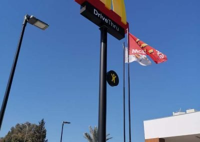 McDonald's pylon