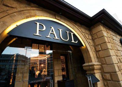 Paul signage