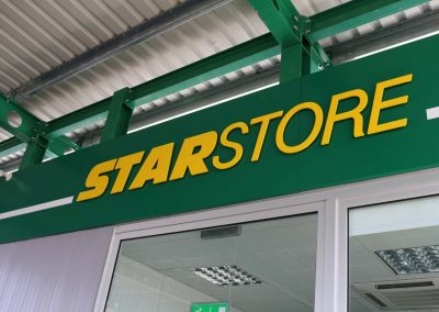 Staroil signage