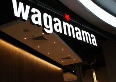 Wagamama signage