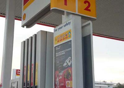 Shell signage