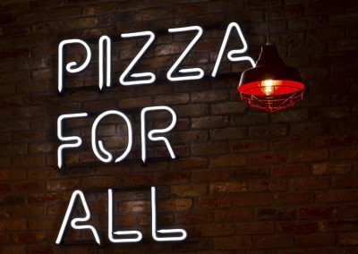 Interior Signs Pizza Hut