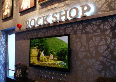 Interior Signs Hard Rock Caffe